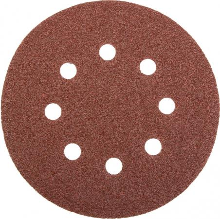 Круг фибровый STAYER MASTER 35452-125-060 8 отверстий велкро P60 125мм 5шт. stayer scsd 4 8