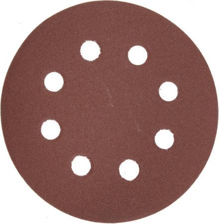 все цены на Круг шлифовальный ЗУБР 35562-125-320 МАСТЕР велкро 8отверстий P320 125мм 5шт.