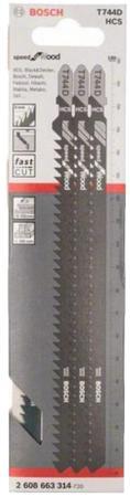 Пилки для лобзика BOSCH 2608663314 3шт. T 744 D HCS sonex настенный светильник sonex greca 061