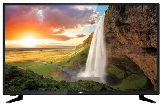 "Телевизор 32"" BBK 32LEX-5048/T2C черный 1366x768 50 Гц Wi-Fi Smart TV VGA RJ-45 SCART"
