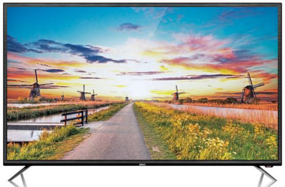 "купить Телевизор LED 65"" BBK 65LEX-6027/UTS2C черный 3840x2160 50 Гц Wi-Fi VGA RJ-45 по цене 56160 рублей"
