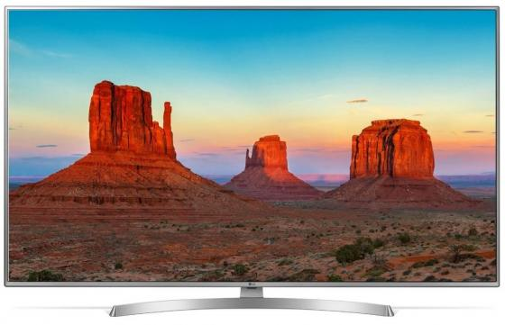 Телевизор LED 55 LG 55UK6710PLB титан 3840x2160 100 Гц Wi-Fi Smart TV RJ-45 телевизор led 55 telefunken tf led55s37t2su черный 3840x2160 50 гц smart tv wi fi rj 45