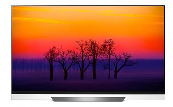 Телевизор LED LG 55 OLED55E8PLA черный/Ultra HD/100Hz/DVB-T2/DVB-C/DVB-S2/USB/WiFi/Smart TV (RUS) lg 43 43lk5400 черный full hd 100hz dvb t2 dvb c dvb s2 usb wifi smart tv rus