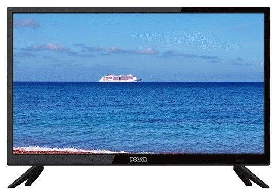 """Телевизор LED 19"""" POLAR P19L21T2C черный 1366x768 50 Гц VGA HDMI USB SCART"""