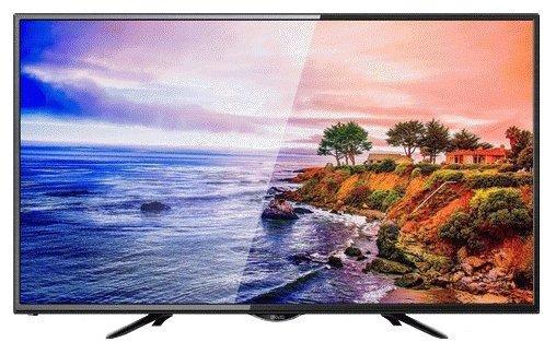 "Телевизор LED 39"" POLAR 39LTV5001 черный 1366x768 50 Гц VGA SCART"