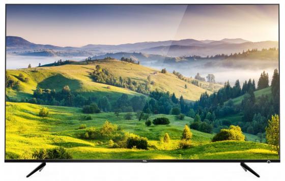 Телевизор LED 43 TCL L43P6US черный 3840x2160 60 Гц Wi-Fi Smart TV S/PDIF RJ-45 tcl 32s3800 32 inch 720p 60hz smart led tv roku tv