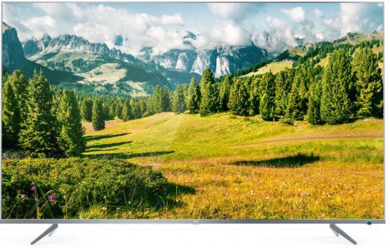 Телевизор LED 50 TCL L50P6US серебристый 3840x2160 60 Гц Wi-Fi Smart TV RJ-45 телевизор 32 tcl led32d2930 черный 1366x768 60 гц wi fi smart tv usb vga s pdif rj 45