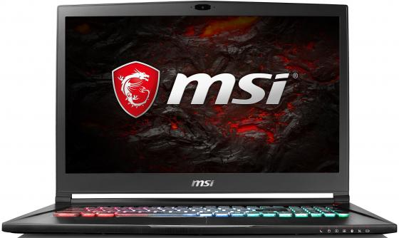 Ноутбук MSI GS73 8RF-028RU Stealth 17.3 3840x2160 Intel Core i7-8750H 1 Tb 512 Gb 32Gb nVidia GeForce GTX 1070 8192 Мб черный Windows 10 Home 9S7-17B712-028 ноутбук msi gt83 8rg 006ru titan intel core i7 8850h 2600 mhz 18 4 1920х1080 32768mb 512gb hdd blu ray nvidia geforce gtx 1070 х 2 wifi windows 10 home