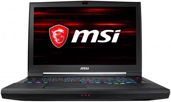 Ноутбук MSI GT75 Titan 8RG-053RU 17.3 1920x1080 Intel Core i7-8750H 1 Tb 256 Gb 16Gb nVidia GeForce GTX 1080 8192 Мб черный Windows 10 Home ноутбук msi gt83 8rg 006ru titan intel core i7 8850h 2600 mhz 18 4 1920х1080 32768mb 512gb hdd blu ray nvidia geforce gtx 1070 х 2 wifi windows 10 home