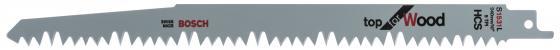 Полотно для сабельной пилы BOSCH S 1531 L (2.608.650.613) дерево, 240мм, HCS, 5зуб/дюйм, 2шт. полотно для сабельной пилы stayer profi 159460 h3