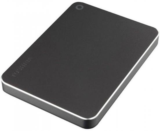 Внешний жесткий диск 2.5 USB 3.0 3Tb Toshiba Canvio Premium серый HDTW230EB3CA внешний жесткий диск toshiba hdtp205ew3aa