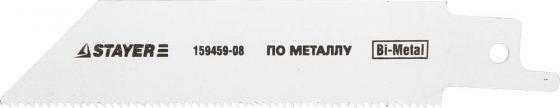 Полотно для сабельной пилы STAYER PROFI S522EF BiMet тонколистовой профильный металл