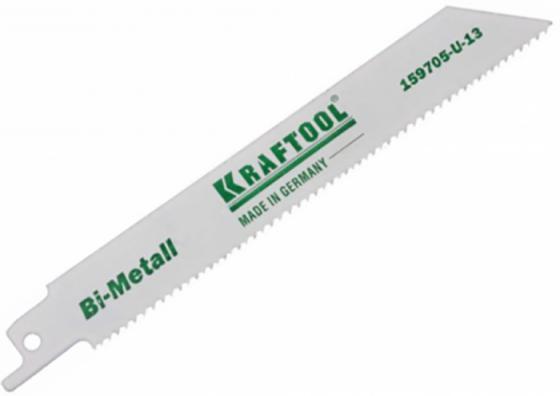 Полотно пильное KRAFTOOL 159705-U-13 INDUSTRIE QUALITAT BiMetaLL по мет.,дереву шаг1.8-2.5мм 130мм торцовая головка industrie qualitat 13 мм 1 2 kraftool 27940 13 z01