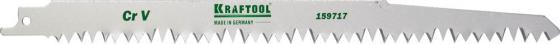 Полотно пильное KRAFTOOL 159717 INDUSTRIE QUALITAT CrV по дереву шаг5-6.5мм 280мм полотно пильное kraftool 159705 u28