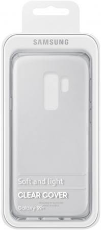 Чехол (клип-кейс) Samsung для Samsung Galaxy S9+ Clear Cover прозрачный (EF-QG965TTEGRU) чехол клип кейс samsung для samsung galaxy note 8 clear cover great прозрачный ef qn950ctegru