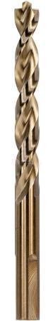 Сверло DEWALT DT4919-QZ Ф2.5х57х30мм по металлу INDUSTRIAL COBALT 8% 10шт