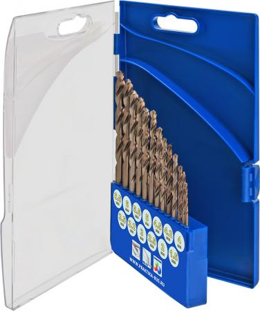 Набор сверл ПРАКТИКА 640-292 металл, кобальтовые, 13шт.: 1.5-6.5+3.2,4.2мм, ПРО кассета, Эксперт дальномер практика дл 30 640 162