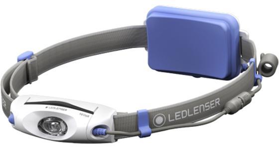 Фонарь налобный Led Lenser Neo 6R синий цена 2017