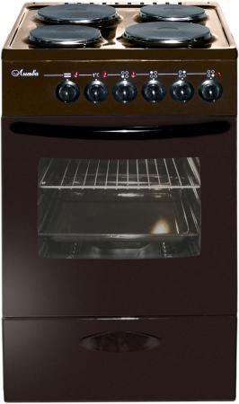 лучшая цена Электрическая плита Лысьва ЭП 402 коричневый