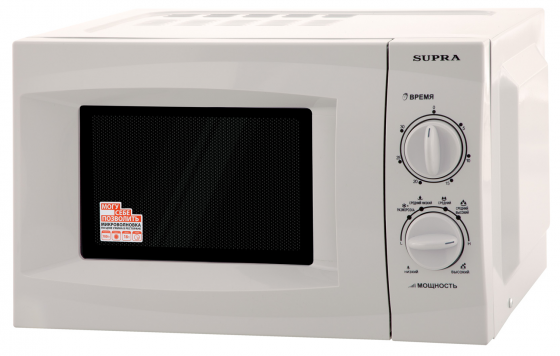 Микроволновая печь Supra 18MS01 700 Вт серебристый мини печь supra mts 420 белый