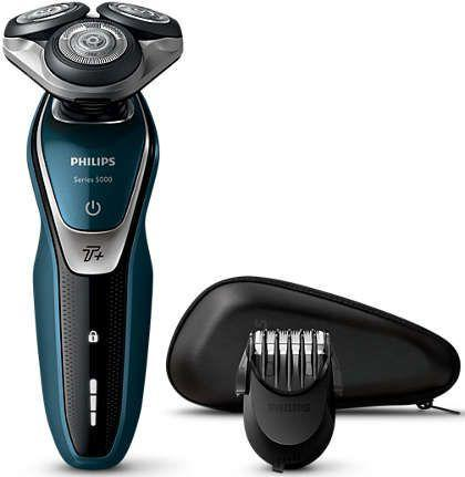 Бритва Philips S5672/41 чёрный синий бритва philips s5110 06