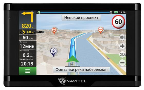 Навигатор Navitel E500 Magnetic 5 800x480 8GB 128MB microSD серый