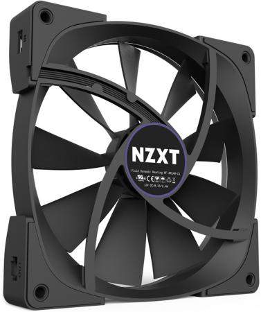 Вентилятор NZXT Aer RGB 120 RF-AR120-B1 120x120x25mm 500-1500rpm