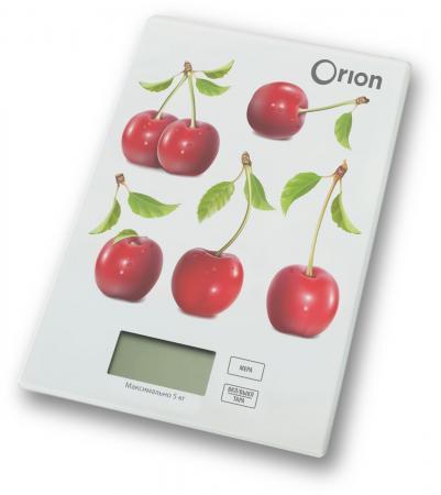 Весы кухонные Orion ВБК-СП04-5КГ рисунок бондажная лента orion bondage tape 18 метров