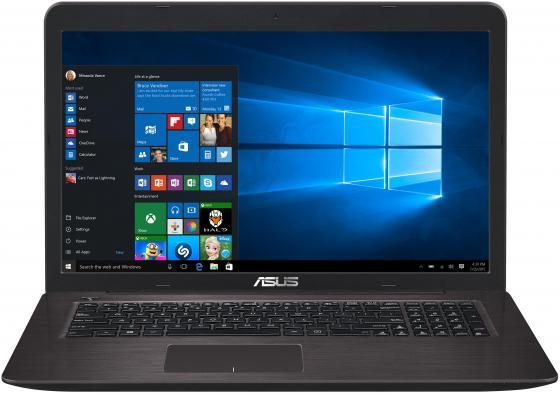 Ноутбук ASUS VivoBook X756UQ-T4453T 17.3 1920x1080 Intel Core i3-7100U 1 Tb 6Gb nVidia GeForce GT 940MX 2048 Мб коричневый Windows 10 Home лениздат 978 5 4453 0759 4