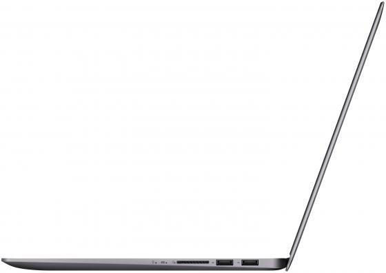 """Ноутбук ASUS Zenbook UX310UF-FC007R 13.3"""" 1920x1080 Intel Core i7-8550U 1 Tb 256 Gb 16Gb nVidia GeForce MX130 2048 Мб серый Windows 10 Professional"""