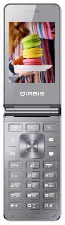 Смартфон Irbis SF20 серебристый 2.8 32 Мб ноутбук irbis nb99 серебристый nb99