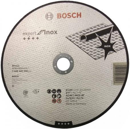 Отрезной круг Bosch 230х2мм 2608600096 bosch premium set 105 2608p00236