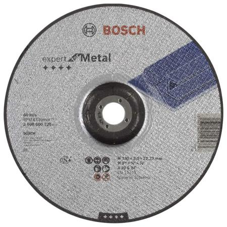 Отрезной круг Bosch 230х3мм 2608600226 отрезной круг bosch 230х2 5ммх22 23мм 2608600225