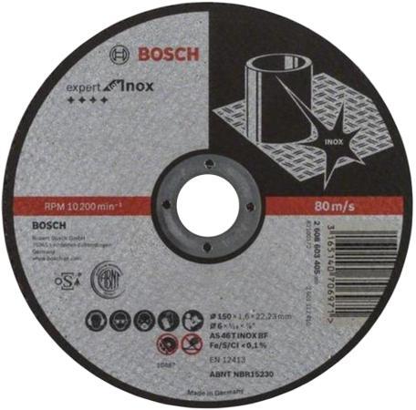 Отрезной круг Bosch 150x1.6мм 2608603405 отрезной круг bosch 355х25 4мм 2608601238