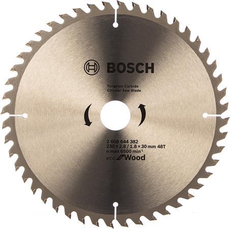 Пильный диск Bosch ECO WO 230x30-48T 2608644382 диск пильный bosch multimaterial 2608640510