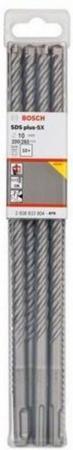 Набор сверел Bosch SDS plus-5X 10x200x260 10шт 2608833904 степлер sн486 скоба 24 6 сшивает до 20 листов светло серый 2631307