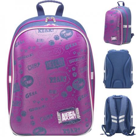 Рюкзак светоотражающие материалы Action! AP-ASB4614/1/18 фиолетовый синий AP-ASB4614/1/18 фиолетовый цвет 18 24 months