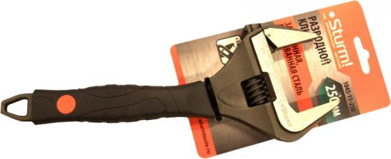 Ключ разводной Sturm 250мм 1045-11-250 ключ трещотка для квадрата 3 8 sturm 1045 15 r38
