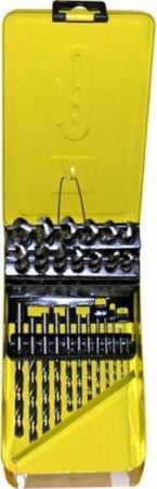 Набор сверл ЭНКОР 21225 по металлу 25шт. 1-13 шаг 0,5 мет набор ключей энкор 20887
