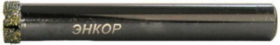 Сверло ЭНКОР 9424 по керамограниту ф12мм алмазное сверло энкор 19175