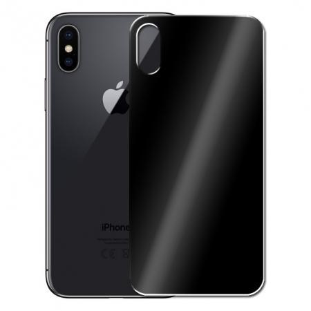 Защитное стекло 3D Perfeo PF_A4067 для iPhone X 0.33 мм (черный)