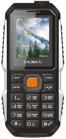 Мобильный телефон Texet TM-D429 черный 1.77 32 Мб телефон проводной texet tx 201 белый