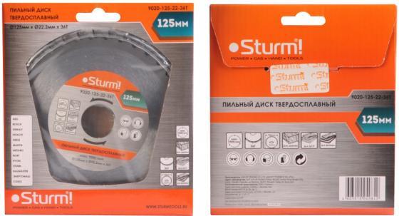 Пильный диск Sturm! 9020-125-22-36T стамеска sturm 14мм 10630114