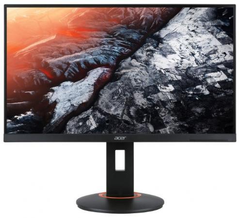 Фото - Монитор 24 Acer XF250Qbmidprx черный TN 1920x1080 400 cd/m^2 1 ms DVI HDMI DisplayPort UM.KX0EE.001 аксессуар mobiledata hdmi 4k v 2 0 плоский 1 8m hdmi 2 0 fn 1 8