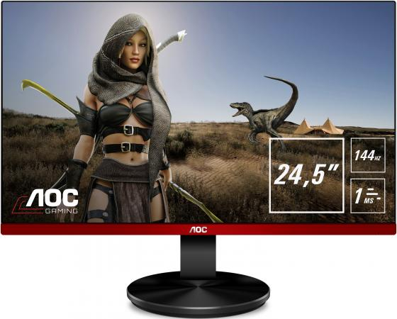 Фото - Монитор 25 AOC G2590PX черный TN 1920x1080 400 cd/m^2 1 ms HDMI DisplayPort VGA USB монитор 25 aoc agon ag251fg black red led 1920x10800 240hz 1 ms 170° 160° 400 cd m 50m 1 hdmi displayport