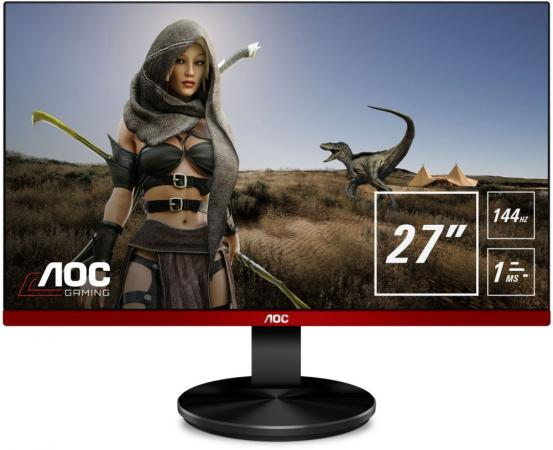 Монитор 27 AOC G2790PX черный TN 1920x1080 400 cd/m^2 1 ms HDMI DisplayPort VGA Аудио USB монитор 27 aoc gaming c27g1 черный va 1920x1080 250 cd m^2 1 ms vga аудио hdmi displayport