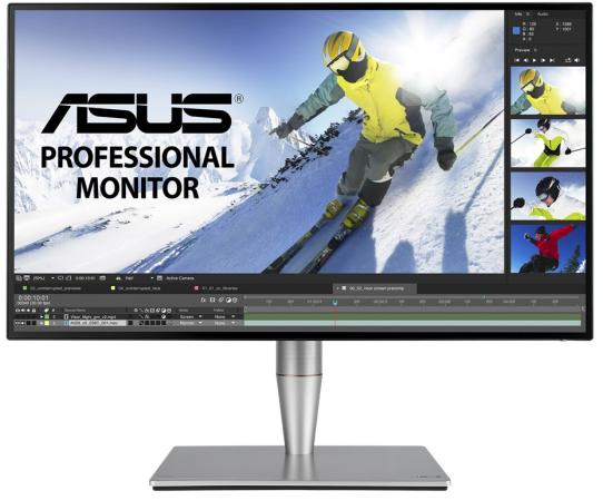 Монитор 27 ASUS ProArt PA27AC черный IPS 2560x1440 400 cd/m^2 5 ms HDMI DisplayPort Thunderbolt Аудио USB 90LM02N0-B01370