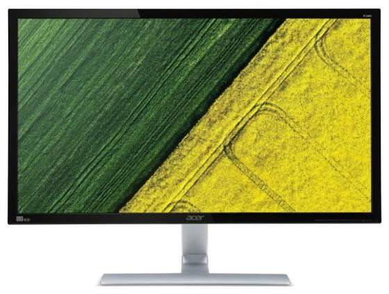 Монитор 28 Acer RT280Kbmjdpx черный TN 3840x2160 300 cd/m^2 1 ms DVI HDMI DisplayPort Аудио монитор lg 24ud58 b черный ips 3840x2160 250 cd m^2 5 ms g t g hdmi displayport