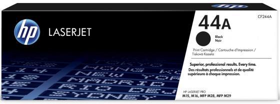 цена на Картридж HP № 44A CF244A для HP LaserJet M15A M15w M28a M28w черный 1000стр