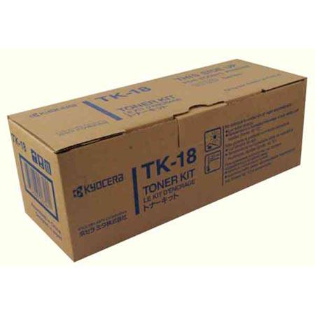 Картридж Kyocera TK-18H для Kyocera FS-1018MFP/1118MFP/1020D черный 7200стр kyocera dk 715